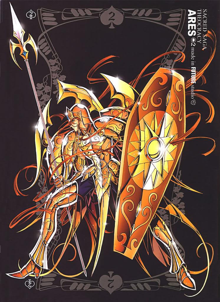 "Fanart ""Sacred Saga"" baseado no desenho de Marco Albiero"