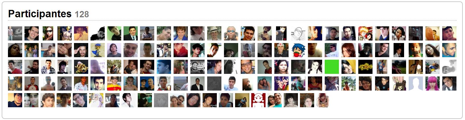 128 participantes